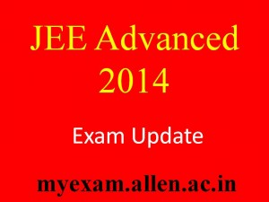 JEE Advanced 2014