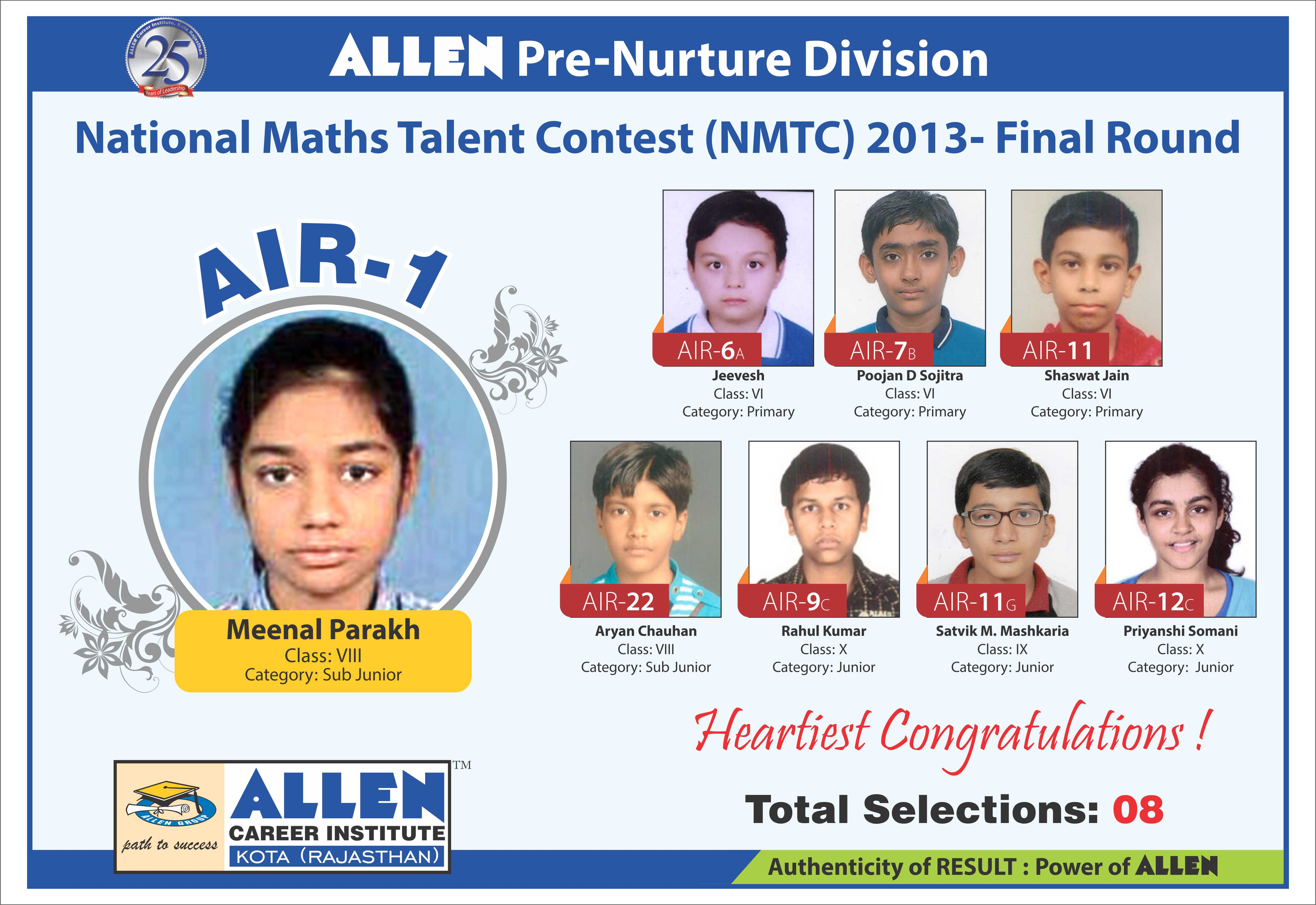 NMTC-Final-Round3 Jee Exam Application Form Last Date on