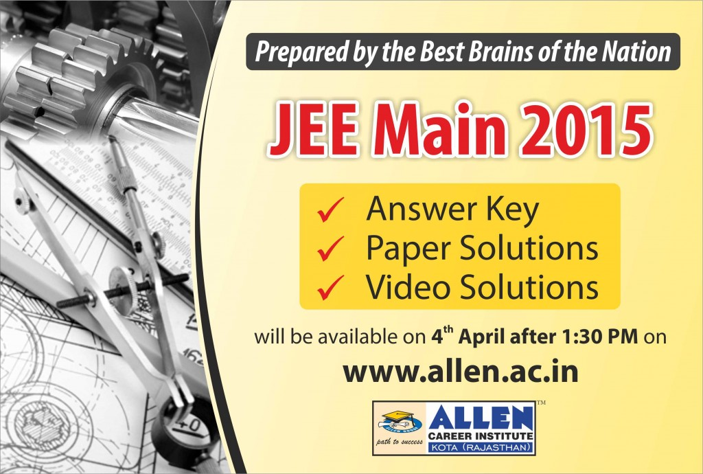 JEE Main-15 Answer Key Paper Video Solutions