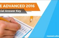 JEE Advanced Official Answer key to be released on 5th June 2016