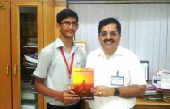 "16 year old Boy ""Jaswant Gembali"" releases book to motivate students"