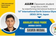ALLEN Student Shines in 10th International Earth Science Olympiad, Wins Silver Medal for the country