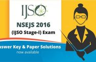 NSEJS 2016 Answer Key and Paper Solutions by ALLEN Career Institute now Available