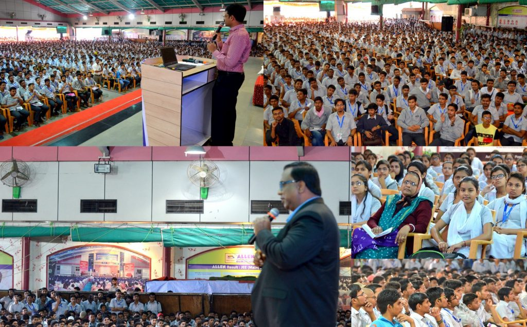 Career guidance seminar by Vellore Institute of Technology (VIT) at ALLEN kota