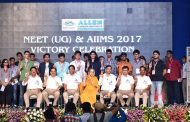 Students and Parents rejoiced in ALLEN's Victory Celebration 2017, Merit holder students of Medical and PNCF division rewarded