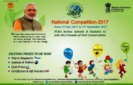 PCRA National Competitions 2017 : A great opportunity for Schools & Students of 5th-10th to win certificates, prizes & an educational trip to Singapore