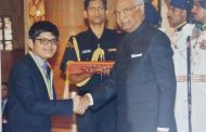 ALLEN's Nishant Abhangi received National Child Award on the occasion of Children's Day