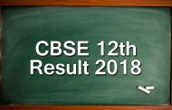 CBSE Board Result 2018 : CBSE Class 12th Result Declared