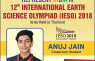 Student of ALLEN Career Institute to Represent Team India in IESO- 2018