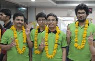 6 friends who studied together secured  Ranks in Top 20 in JEE MAIN-2018