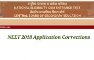 NEET (UG) 2018 : Correction Facility Now Available