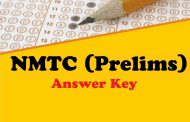 NMTC Prelims Answer Key 2018 Now Available
