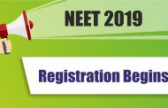NEET-2019 Registration Begins From Today: Check Complete Information Here