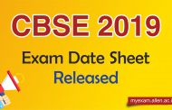 CBSE 2019 Exam Date Sheet Released: Check complete information here