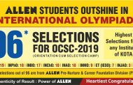 96 Students of ALLEN selected for Orientation Cum Selection Camp (OCSC)