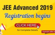 JEE Advanced 2019 Online Registration Begins: Check how to register