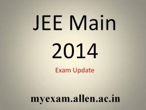 JEE Main 2014