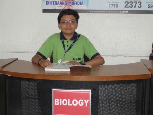 Jeevesh : youngest student to qualify for the second round of International Biology Olympiad (IBO)