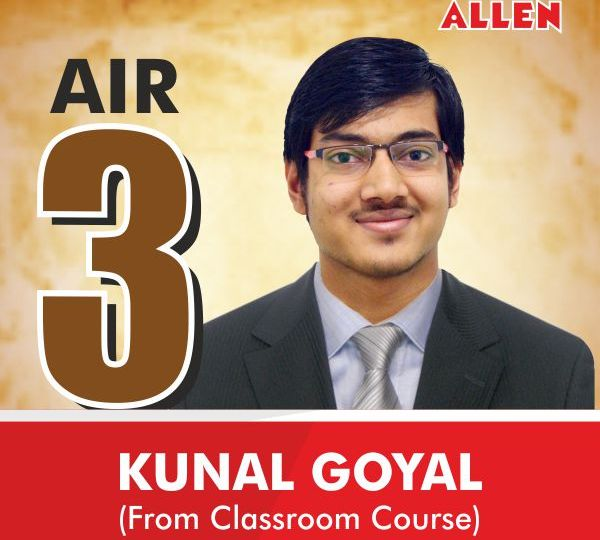 JEE Advanced 2016 All India Topper (AIR-3) Kunal Goyal