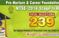 ALLEN's 239 students win NTSE 2016 Scholarships