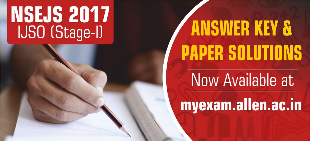 NSEJS 2017 Answer Key and solution