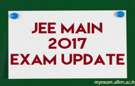 Online Application procedure for JEE Main 2017 has Started, Download the Information Bulletin and Instructions