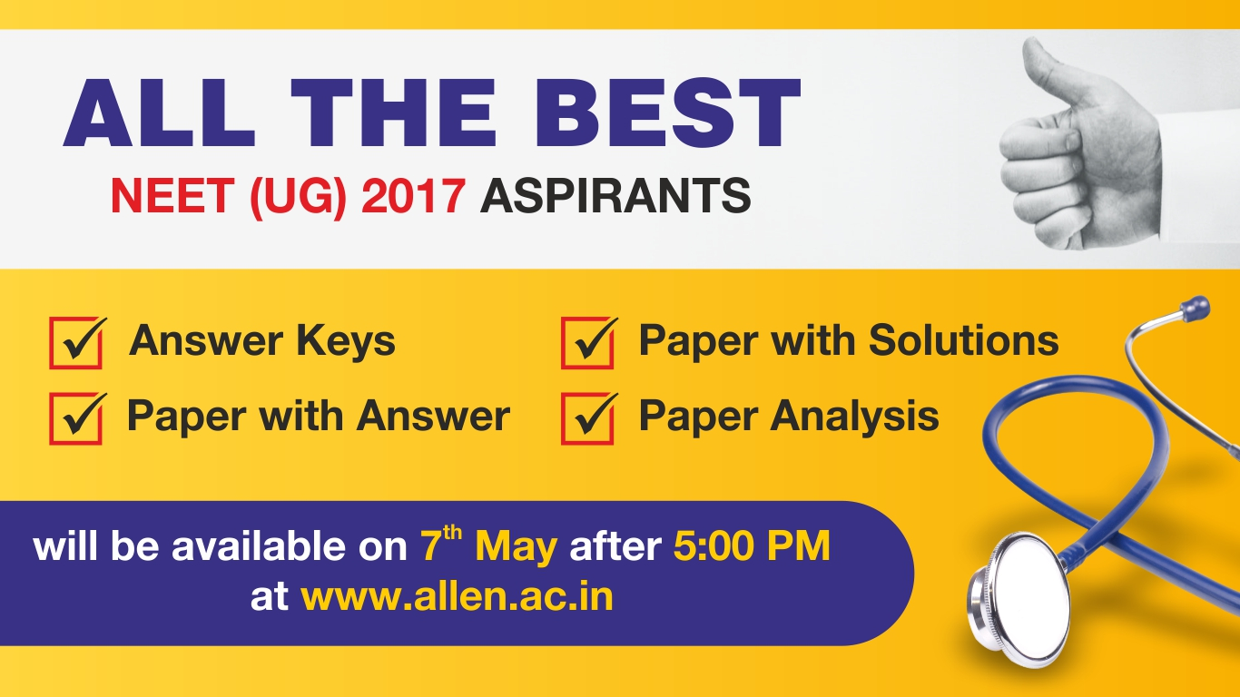 ALLEN NEET UG Answer Key