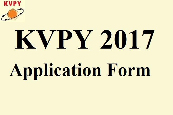 KVPY-2017-Application-Form