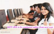 IIT-JEE Exam will go online from 2018. Errors in question papers prompted the change