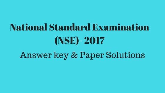 National Standard Examination (NSE)