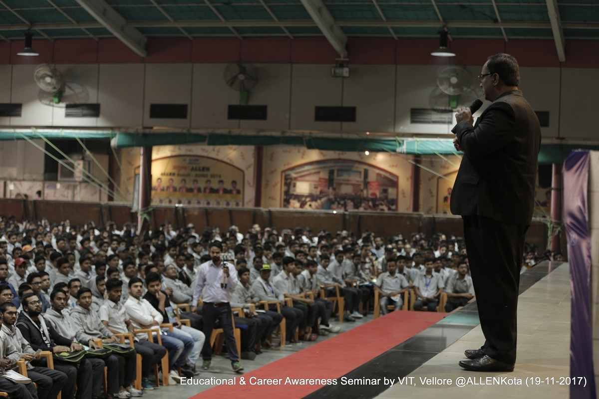 VIT-Vellore organised Seminar in allen kota