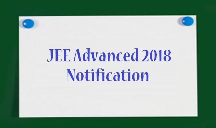 JEE advanced 2018 Information