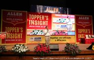 """Students of Allen Career Institute learned about techniques of high scoring in """"Topper's Insight-2017"""""""
