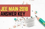 JEE Main 2018 Answer Key, OMR Sheets has been released on official website. Check Important Updates