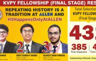 Students of Allen Career Institute bagged Top 3 AIR in KVPY 2017-18