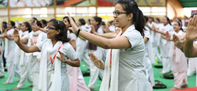 Choti Guru Ma, Rekha Ji, Self development, Self defense, ALLEN