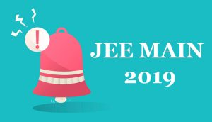 JEE main 2019 exam date and shift timings