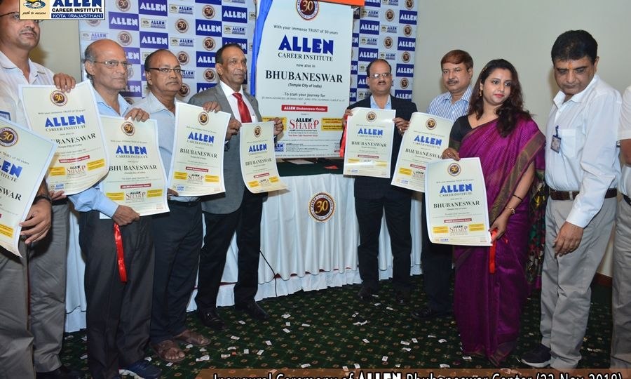 Inaugural Ceremony of ALLEN Bhubaneswar Center