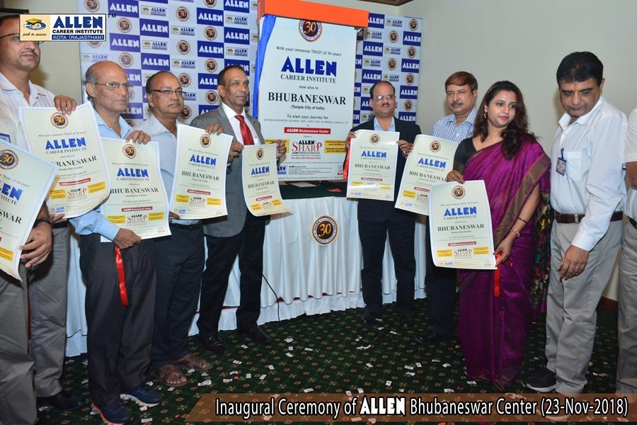 Inaugural Ceremony of ALLEN Bhubaneswar Center