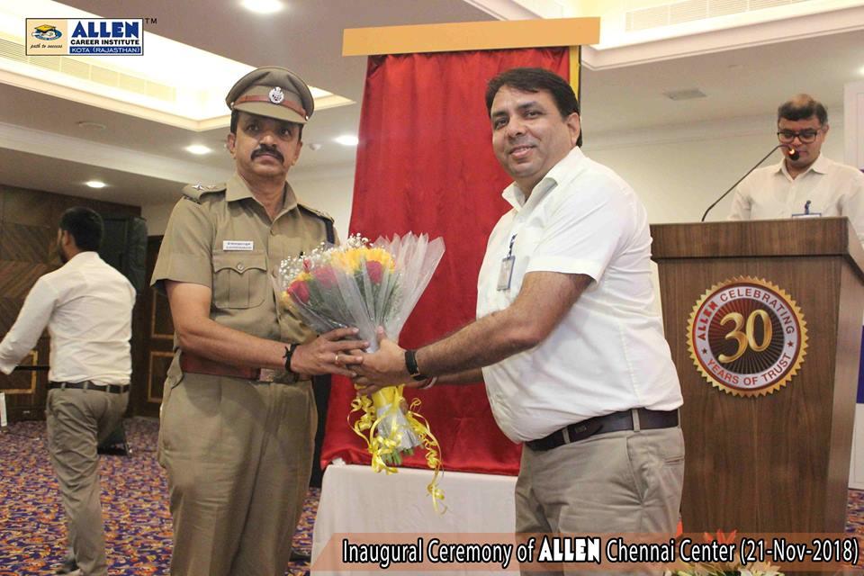 Inaugural Ceremony of ALLEN Chennai Center