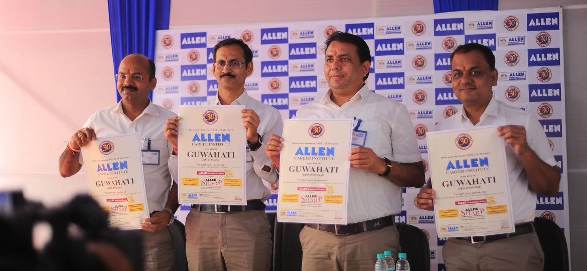Inaugural Ceremony of ALLEN Guwahati Center