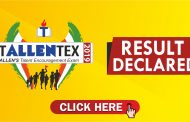 TALLENTEX 2019 result declared: Check your result now