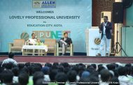Seminar conducted by Lovely Professional University in ALLEN Career Institute
