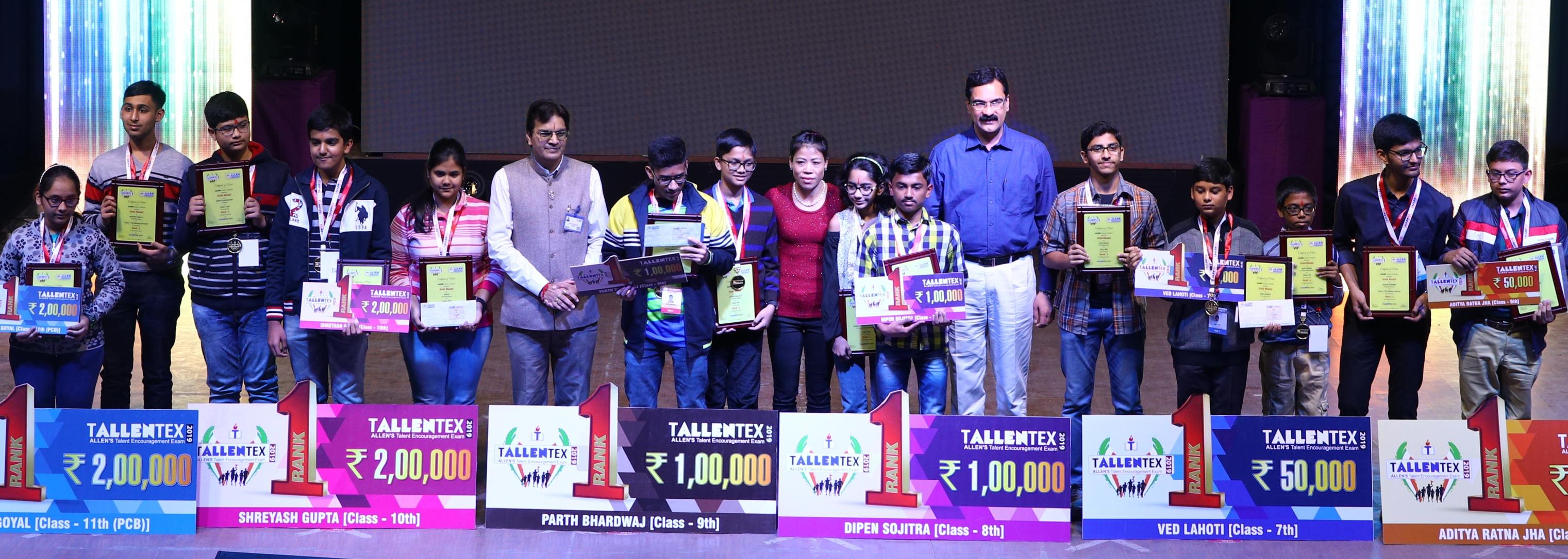 Winners of Tallentex 2019