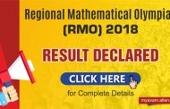 Regional Mathematical Olympiad 2018 Result Declared: Check Here