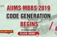 AIIMS MBBS 2019 Code Generation begins: Know Complete Details