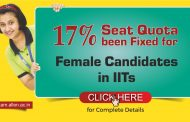 17% Seat Quota been Fixed for Female Candidates in IITs. Check JEE Advanced 2019 dates, Fees & eligibility criteria