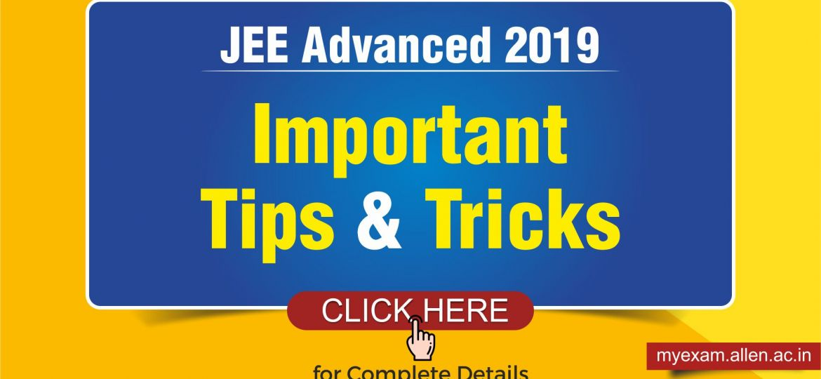 JEE Advanced 2019 Blog Post