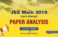JEE Main 2019 (April Attempt) Paper Analysis by ALLEN Experts & Students