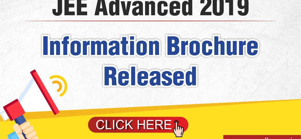 JEE Main 2019_Information Brochure Released_ Blog Post
